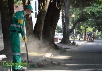 Barrido y limpieza de vías y áreas publicas