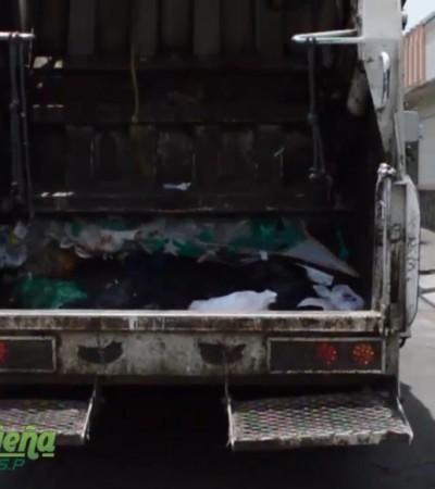 Recolección y transporte de residuos sólidos asimilables a domésticos.
